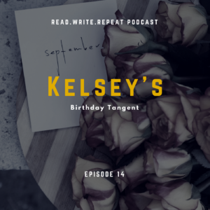 Kelsey's Birthday Tangent: Tacky book covers, author threesomes & man cloaks-Ep.14