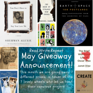 May Giveaway Announcement